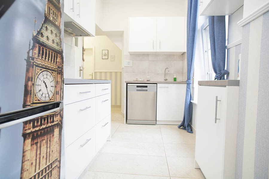 Apartament Brighton kuchnia