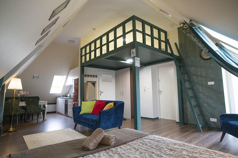 Apartament Edynburg wnętrze 10