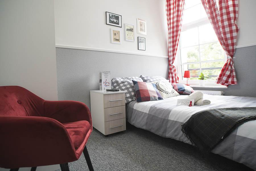 Apartament Manchester wnętrze